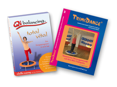 DVD Training Qi-Balancing für Trampolin