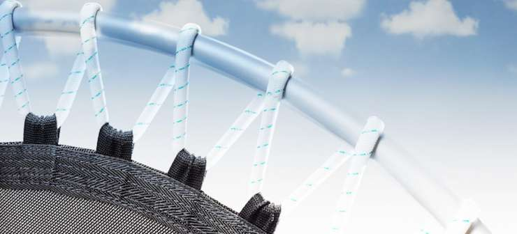 Elastic rubber cables for Trimilin rebounders