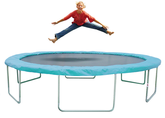 trimilin garden trampoline fun